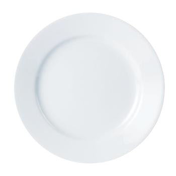Crockery Hire - Porcelite Plates