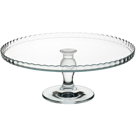 Hire Glass Cake Stand